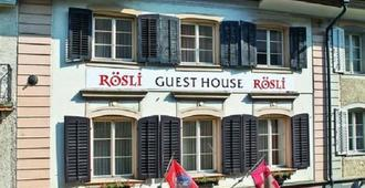 Roesli Guest House - Lucerne - Bâtiment