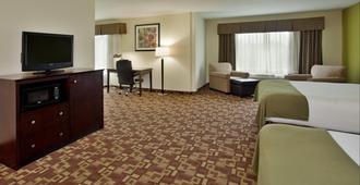Holiday Inn Express & Suites Kansas City Sport Complex Area - Kansas City - Bedroom