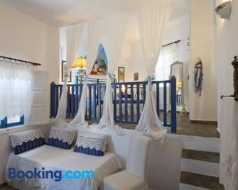 Pegados Apartments - Folegandros - Bedroom