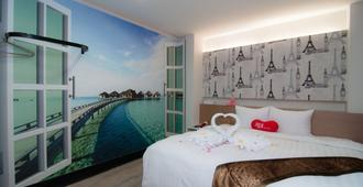 新竹 101 旅店 - 新竹市 - 臥室