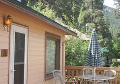 Misty Mountain Lodge - Estes Park - Hàng hiên