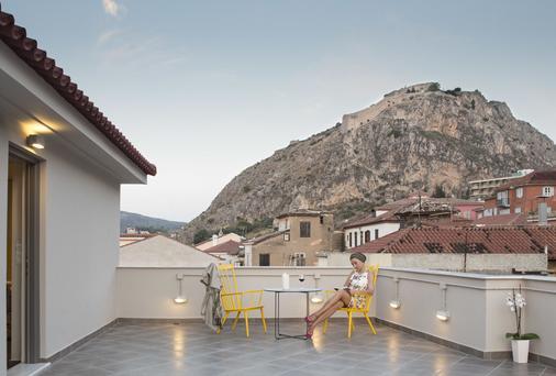 Athena hotel - Ναύπλιο - Μπαλκόνι