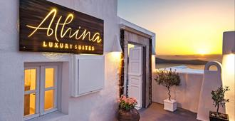Athina Luxury Suites - Fira - Vista esterna