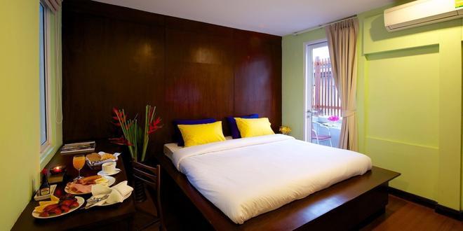 薩拜曼谷酒店 - 曼谷 - 曼谷 - 臥室