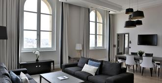 馬賽洲際酒店 - 馬賽 - 馬賽 - 客廳