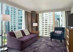 Homewood Suites by Hilton Chicago Downtown South Loop - Chicago - Living room
