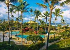 2417 @ Lihue Oceanfront Resort, Kauai Beach Drive, Kauai Hawaii - Lihue - Piscina