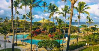 2417 @ Lihue Oceanfront Resort, Kauai Beach Drive, Kauai Hawaii - Lihue - Pool