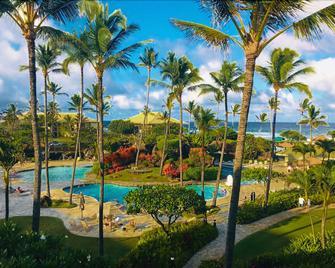 2417 @ Lihue Oceanfront Resort, Kauai Beach Drive, Kauai Hawaii - Lihue - Zwembad