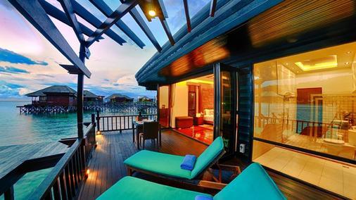Gayana Marine Resort - Kota Kinabalu - Balcony