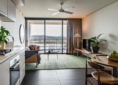 Nishi Apartments Eco Living by Ovolo - Canberra - Salon
