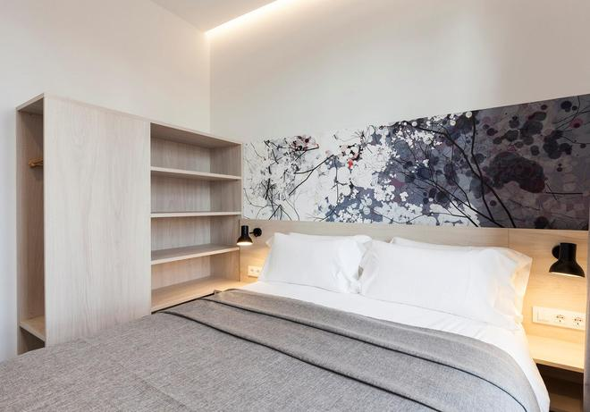 Aspasios Poblenou Apartments - Barcelona - Bedroom