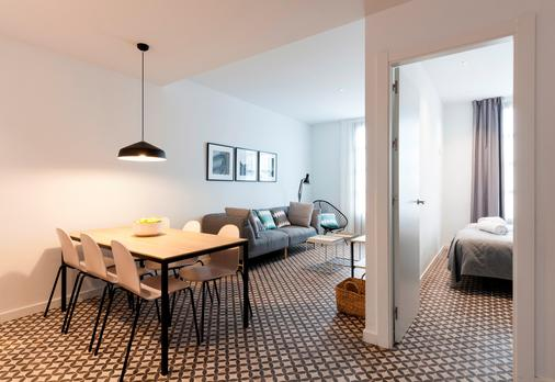 Aspasios Poblenou Apartments - Barcelona - Dining room