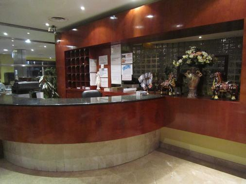 Hotel Concordy - Madrid - Front desk