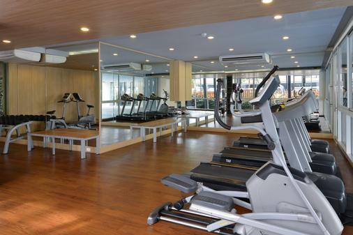 The Grass Serviced Suites - Pattaya - Fitnessbereich