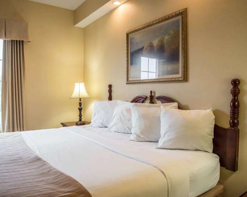 湖城品質酒店 - 萊克城 - 湖城 - 臥室