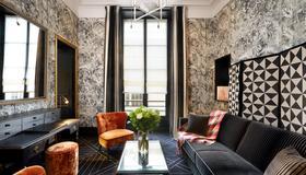 Pavillon de la Reine - Paris - Living room