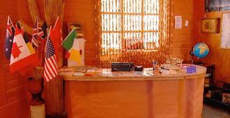 Hostal Sumaj Jallpa - סן פדרו דה אטקאמה - דלפק קבלה