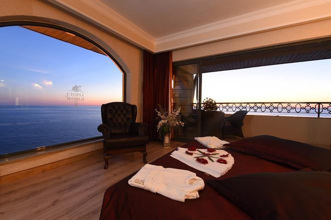 Utopia World Hotel - Alanya - Bedroom
