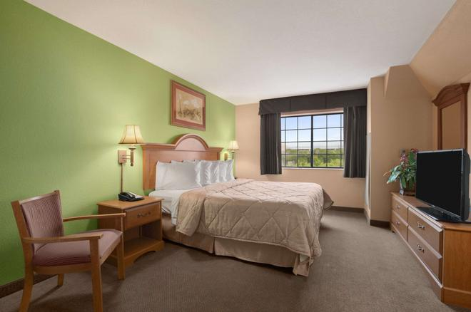 Days Inn & Suites by Wyndham San Antonio North Stone Oak - San Antonio - Schlafzimmer
