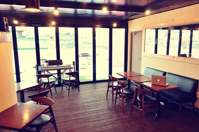Air Hostel Dongdaemun - Seúl - Restaurante