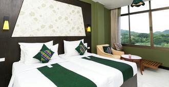 River Kwai Hotel - Thành phố Kanchanaburi - Phòng ngủ