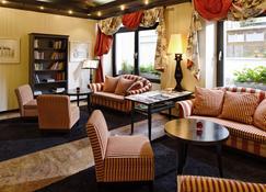 Romantik Hotel Mont Blanc au Lac - Morges - Wohnzimmer