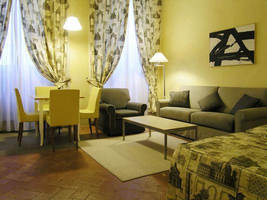 皮可諾公寓住宅酒店 - 佛羅倫斯 - 佛羅倫斯 - 客廳
