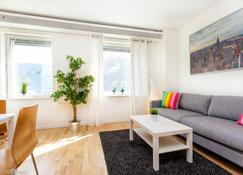 Apartdirect Hammarby Sjöstad - Stockholm - Living room