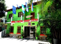 Hotel & Hostal Yaxkin Copan - קופאן רוינאס - בניין