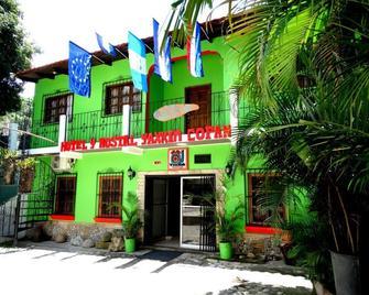 Hotel & Hostal Yaxkin Copan - Copán (sitio arqueológico) - Edificio
