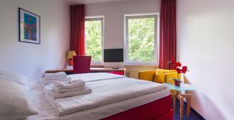 Hotel in Herrenhausen - האנובר - חדר שינה