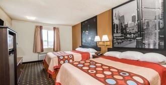 印弟安納波里斯速 8 酒店 - 印第安那波里 - 印第安納波利斯 - 臥室