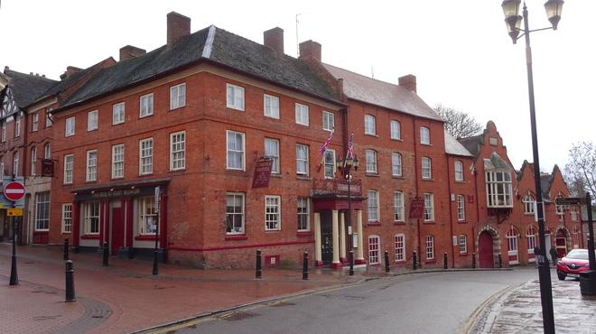 Castle Hotel - Tamworth - Gebäude