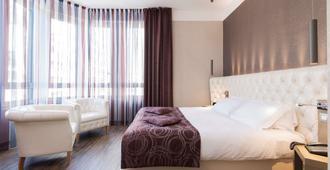 c-hotels Atlantic - מילאנו - חדר שינה