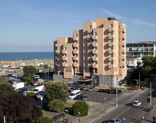 Hotel Bellevue - Rímini - Edificio