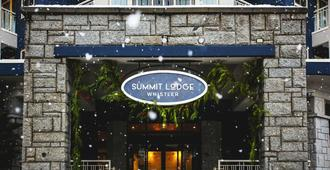 Summit Lodge Boutique Hotel - Whistler - Hotel Entrance