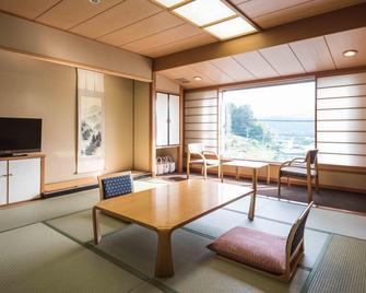 Fukuroda Onsen Omoide Romankan - Daigo - Essbereich