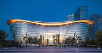 Intercontinental Tianjin Yujiapu Hotel & Residences - Tianjin - Building