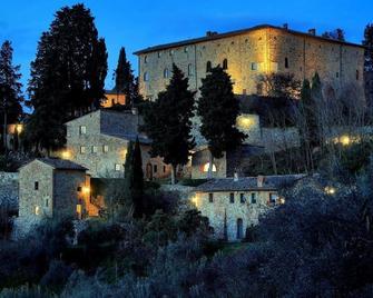 Castello di Bibbione - Сан-Кашиано-ин-Валь-де-Песа - Здание