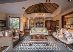 Tintswalo Safari Lodge - Kruger National Park - Wohnzimmer