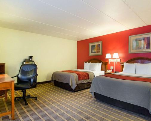 Comfort Inn University Center - Fairfax - Makuuhuone