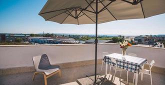 Hotel Como - Syrakus - Balkon