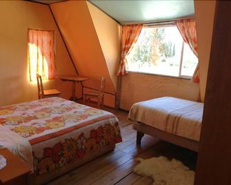 Hosteria huemules - Puerto Guadal - Bedroom