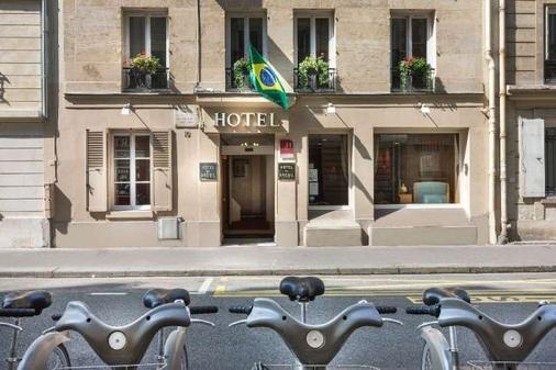 Hotel du Brésil - Pariisi - Rakennus