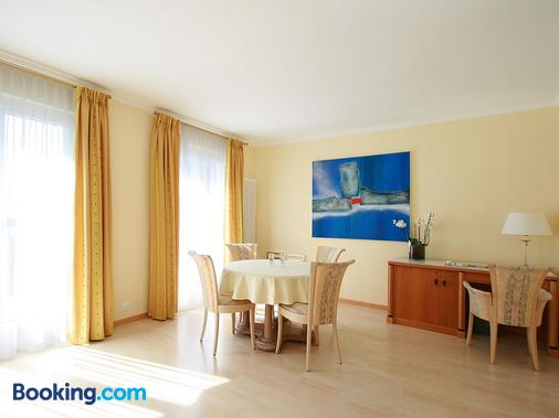 Hotel Garni Golf - Ascona - Phòng ăn