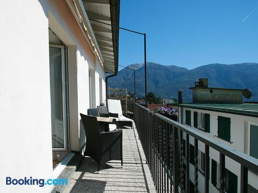 Hotel Garni Golf - Ascona - Ban công