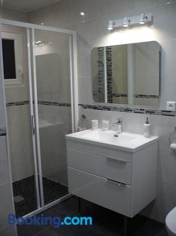 Chambre d'Hôte Les Ondines - Vinay - Bathroom