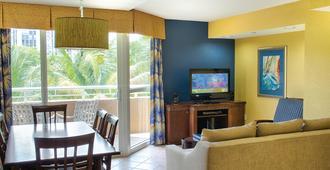 Wyndham Santa Barbara Resort - Extra Holidays - Pompano Beach - Wohnzimmer