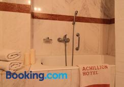 Achillion Hotel - Athens - Bathroom